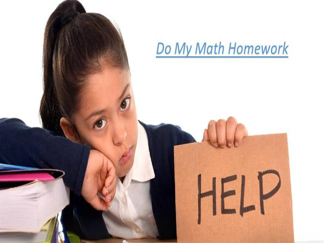 Do my math homework com