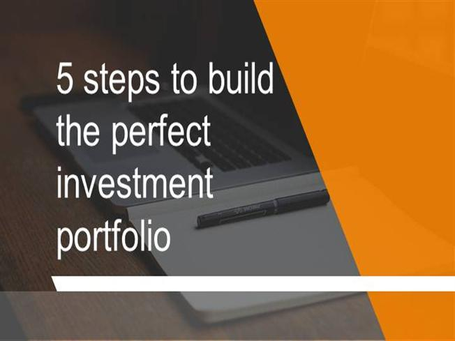 how to build an investment portfolio for beginners