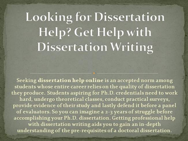 writing the hypothesis of a dissertation