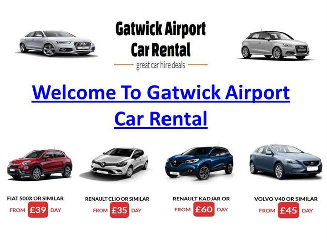 Car Hire Gatwick Best Prices
