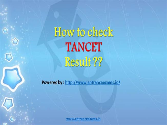 TANCET Previous Question Papers 2017 Download Model