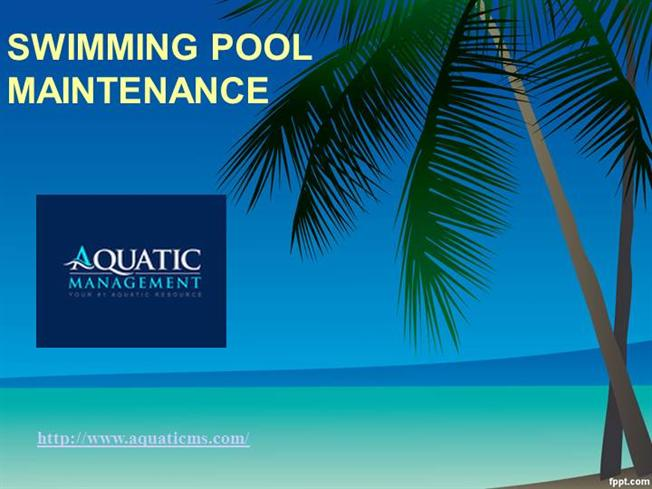 Swimming Pool Maintenance Authorstream