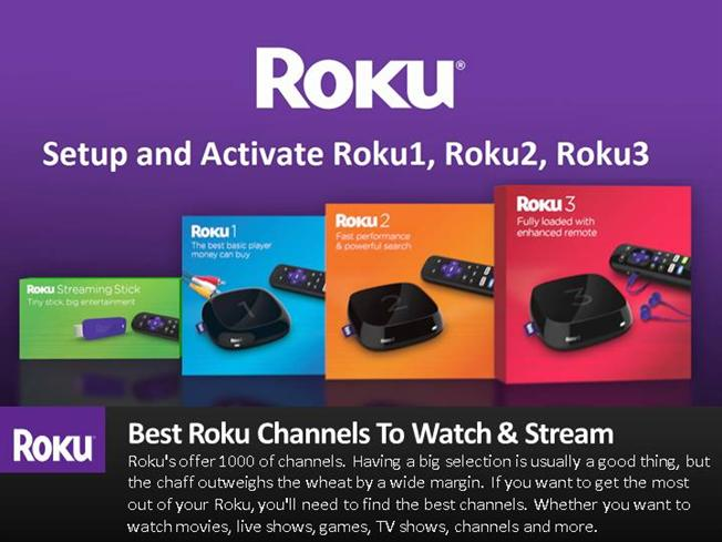 how to add channels to roku online