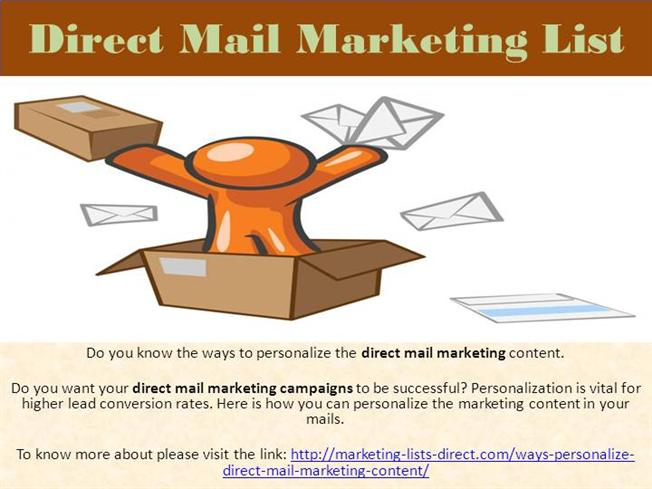 Effective E-Mail Marketing Tips