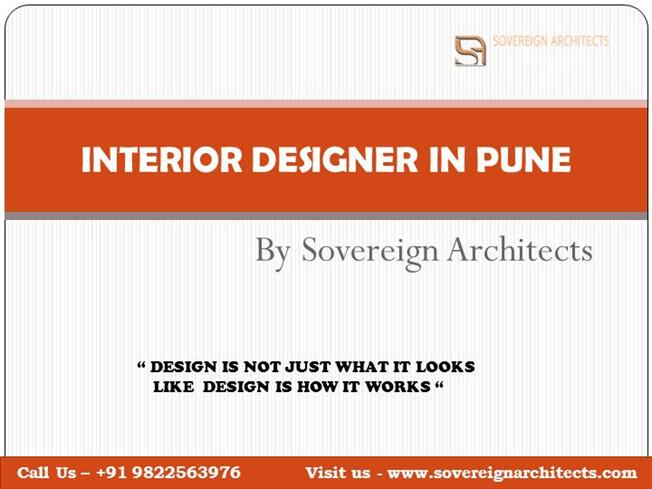 Interior Designer In Pune By Sovereign Architects