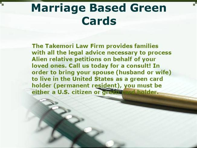 Marriage Based Green Cards  authorSTREAM