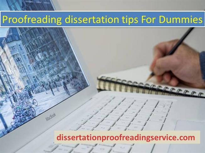 Proofreading Dissertation Tips for Dummies authorSTREAM