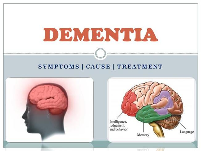 causes symptoms and treatment of dementia