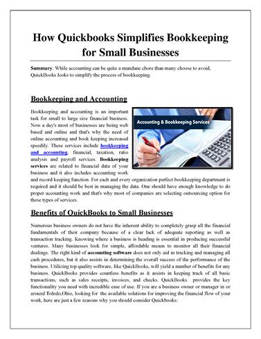 bookkeeping and record keeping basics There are two forms of accounting used by small businesses -- cash and accrual the basic difference between the two methods is the timing of.