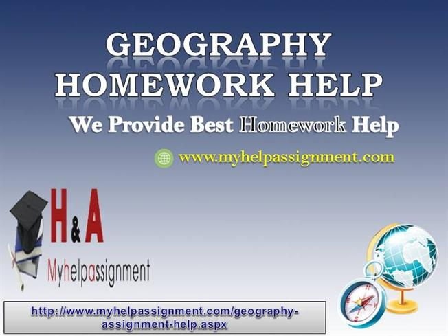 How beneficial can Geography Homework help service be?