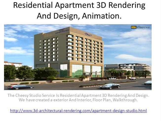 Residential Apartment 3d Rendering And Design Animation