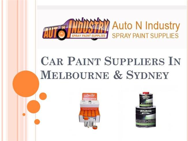 Car paint suppliers in melbourne authorstream for Automotive paint suppliers