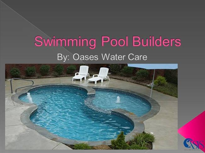 Swimming Pool Builders Authorstream