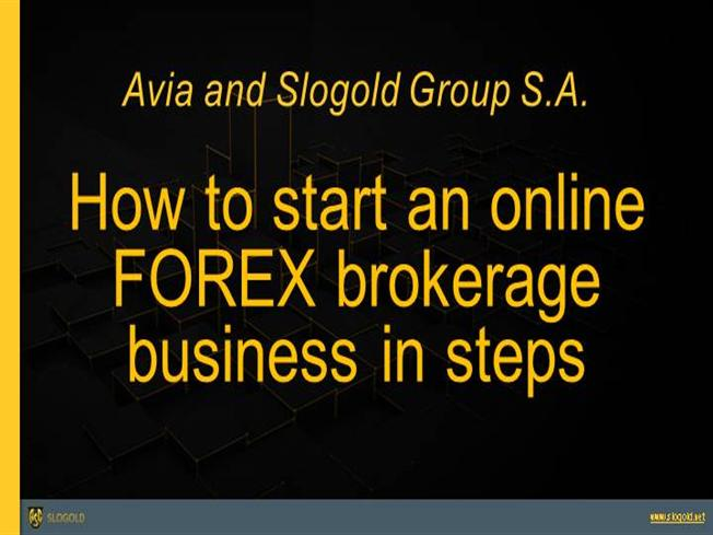 Open your own forex brokerage