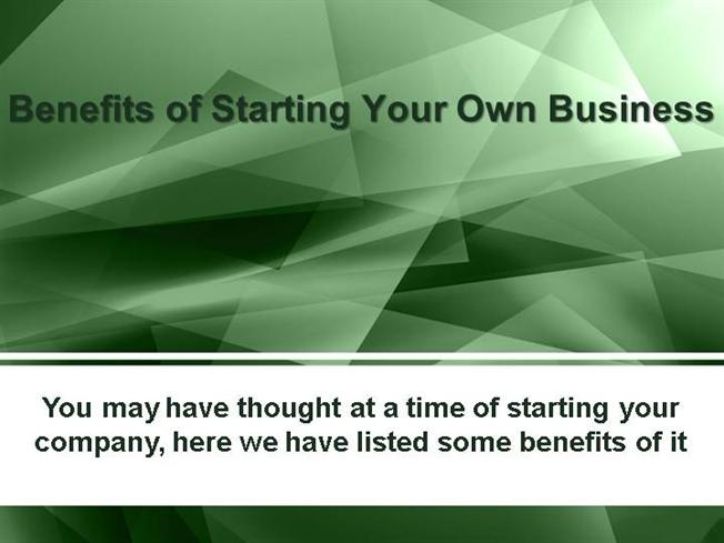 advantages of starting up a business The pros are huge and the cons can be gotten past advantages 1 it' s what are the advantages and disadvantages of having a start-up in taipei update cancel does every new business have to be a start up.