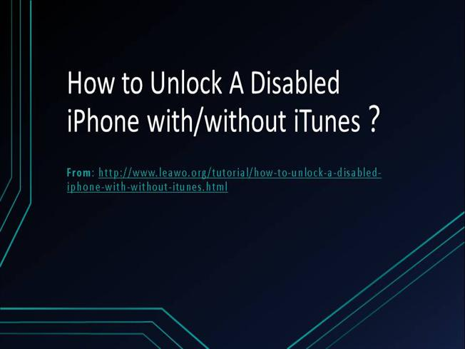 If you forgot the passcode for your iPhone, iPad, or iPod ...