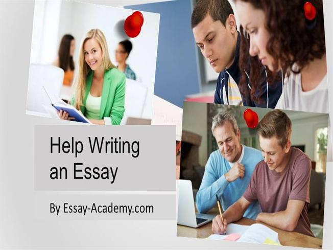 help in writing a essay