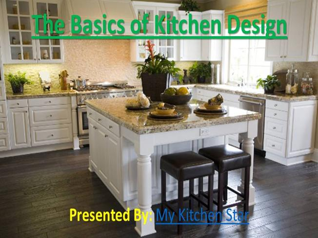 The Basics Of Kitchen Design Authorstream