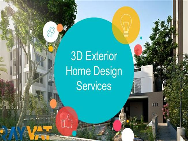 3d Exterior Home Design Services Authorstream