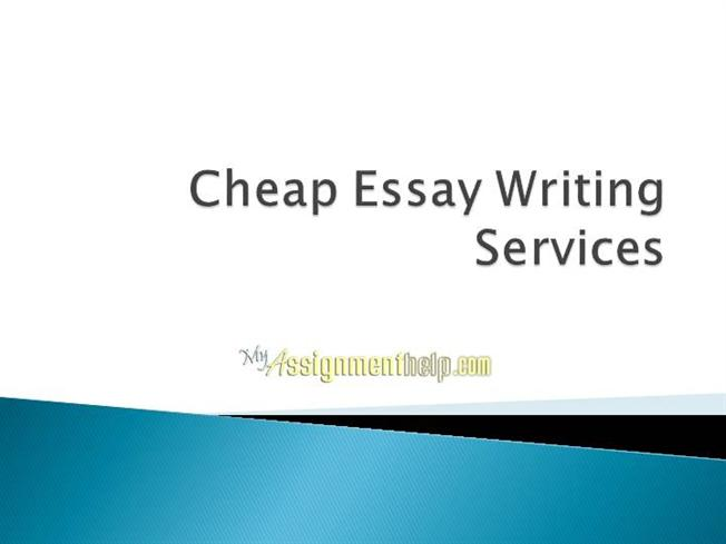 The cheapest essay writer