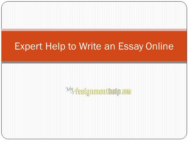 write an essay for me online