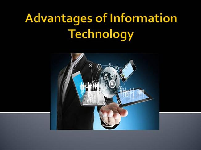 technology and its advantages Why is technology important in business understand its cash flow needs and that leads to competitive advantages simply put, technology helps businesses.