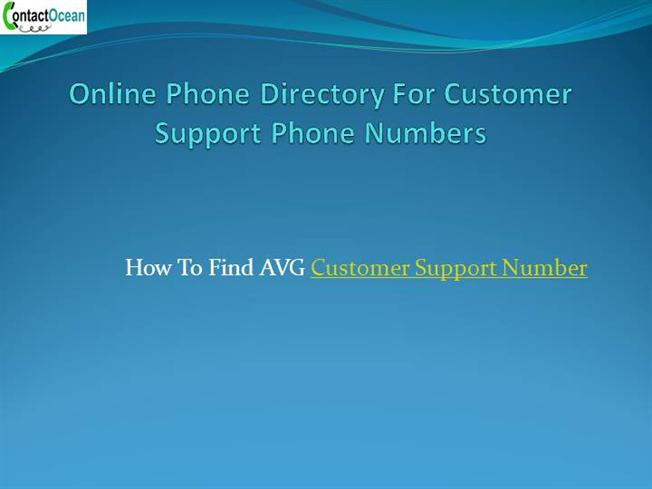 online phone directory for customer support phone numbers authorstream. Black Bedroom Furniture Sets. Home Design Ideas