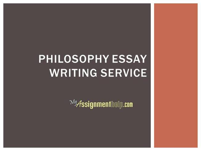 Philosophy writing service