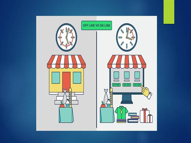 differences between offline and online businesses