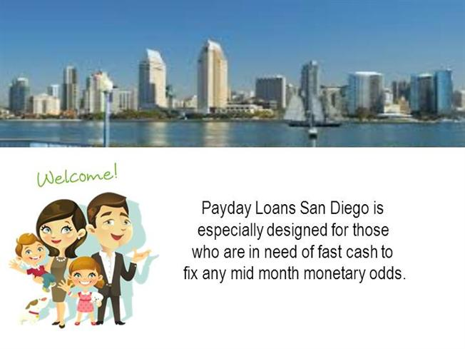 San diego payday loans cash advance