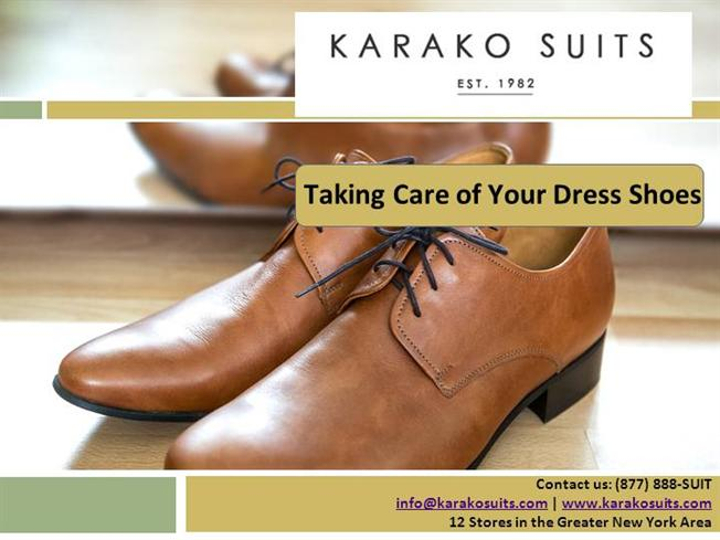 Taking Care of Your Dress Shoes |authorSTREAM