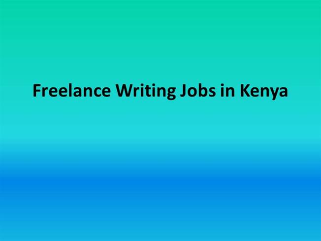 Freelance writing websites in kenya
