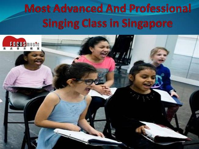 Most Advanced And Professional Singing Class in Singapore