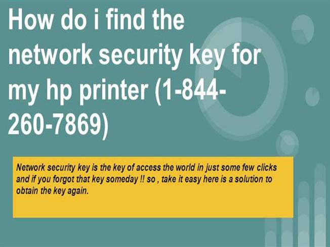 How Do I Find The Network Security Key For My Hp Printer