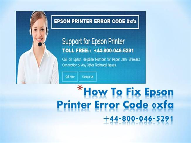 how to fix printer error
