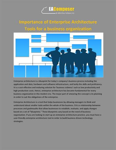 Importance of enterprise architecture tools for a business organiz importance of enterprise architecture tools for a business organiz authorstream malvernweather Gallery