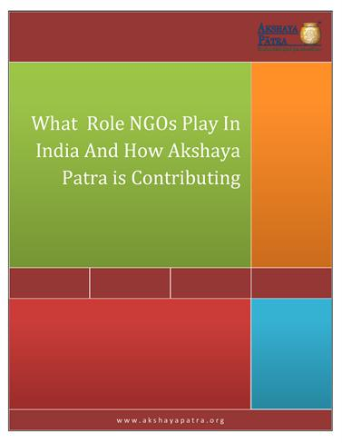 the role of an ngo in Role of ngos in education historic roles of ngos in education: - spread of western education, led by religious organizations in late 19th and early 20th centuries - played a key role in the inclusion of education development in international organization projects after the second world war.