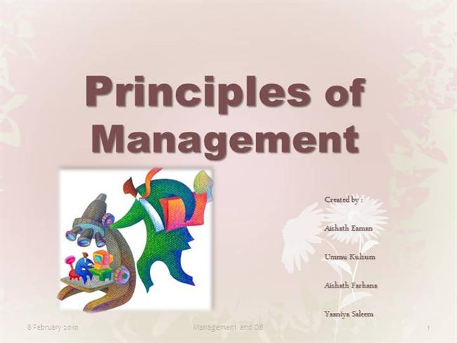 principles of business management interface Interested in making category management a priority implement the key principles of category management to place it at the heart of your business.