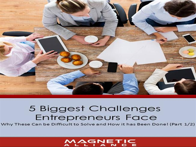the challenges which entrepreneurs face in