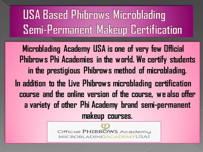 Usa Based Phibrows Microblading Authorstream