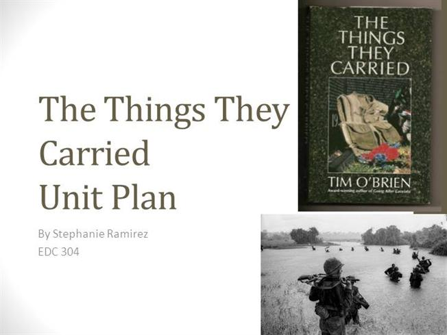 the things they carried war