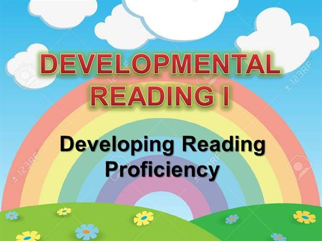 developmental reading Developmental reading programs are specialized courses at colleges designed to improve students' reading skills to the level needed for college coursework some students may be required to enroll in.