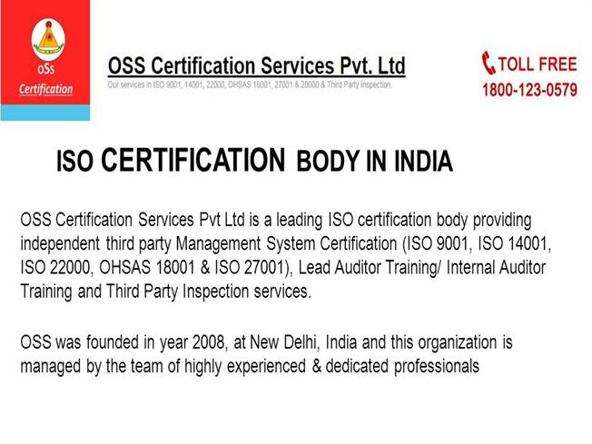 iso 14001 and ohsas 18001 training