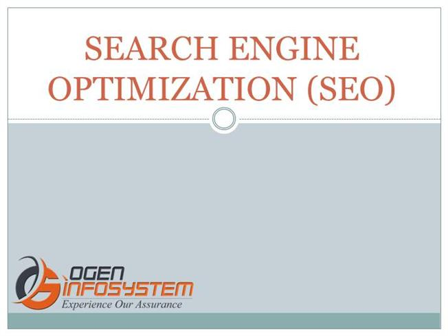 SEARCH ENGINE OPTIMIZATION SEARCH ENGINE OPTIMIZATION -authorSTREAM SEARCH ENGINE OPTIMIZATION - 웹