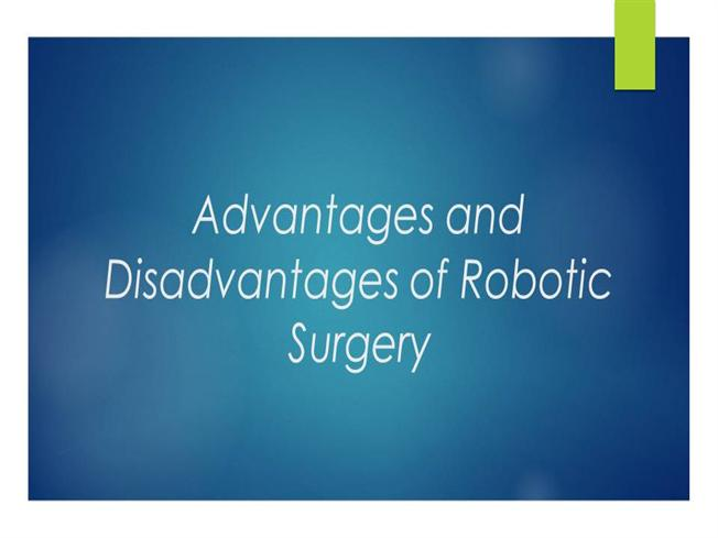 advantages and disadvantages of robots Is it better to have your prescription filled by a machine find out the benefits and drawbacks of the robotic dispensing machine at your pharmacy.