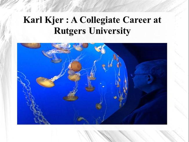 Karl kjer a collegiate career at rutgers university for Rutgers powerpoint template