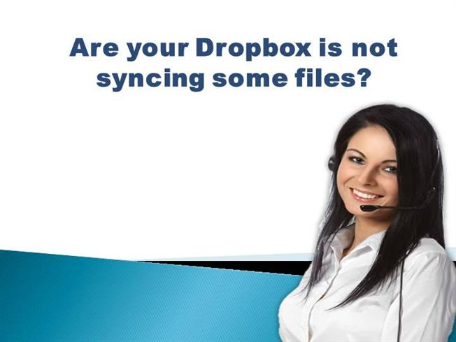 Dropbox not syncing all files