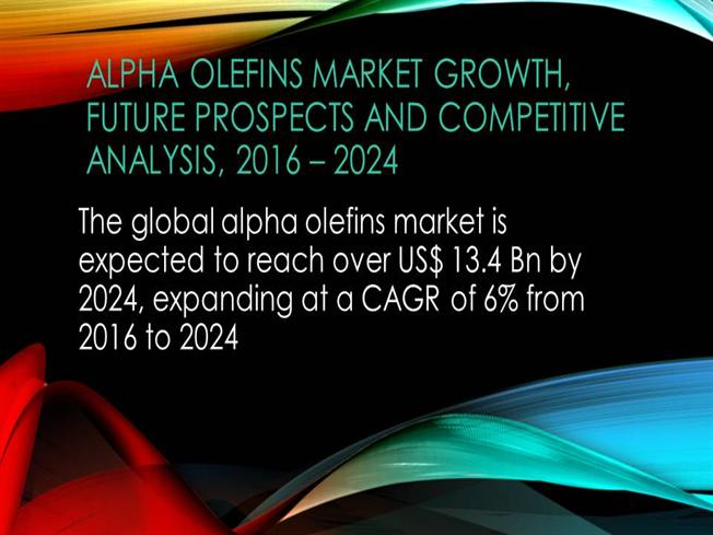 alpha olefin market expected 4 6 million Alpha olefin market is anticipated to grow at a compound annual growth rate of 42%, over the next 5 years and reach 46 million metric tons by 2018.