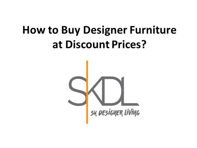 How to Buy Designer Furniture at Discount Prices