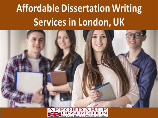 Dissertation writing services in london